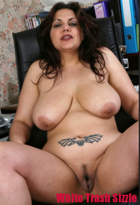 white trash bbw ready to fuck
